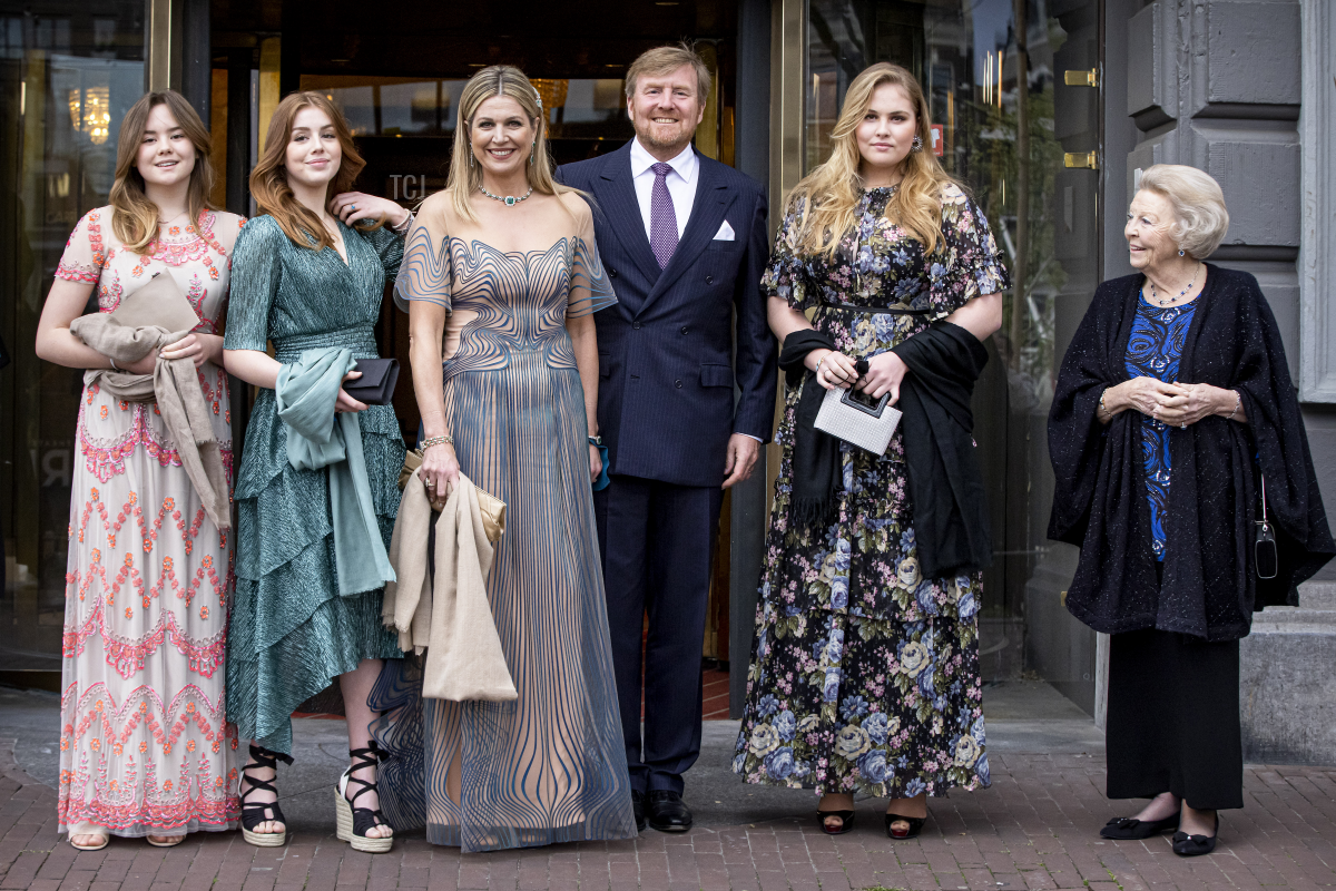 The Dutch royals attend a concert celebrating Queen Maxima's 50th birthday